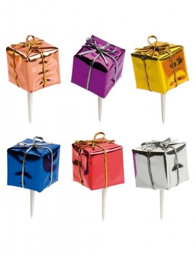 kit de 6 d corations pour b che de no l cadeaux. Black Bedroom Furniture Sets. Home Design Ideas