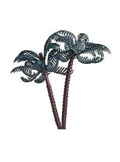 Décoration de gâteau palmier 7,5 cm
