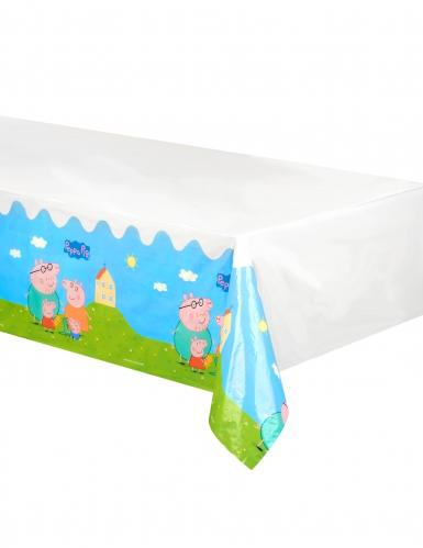 Nappe en plastique Peppa Pig™ 130 x 180 cm