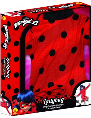 Coffret déguisement classique Miraculous Lady Bug™ fille-2