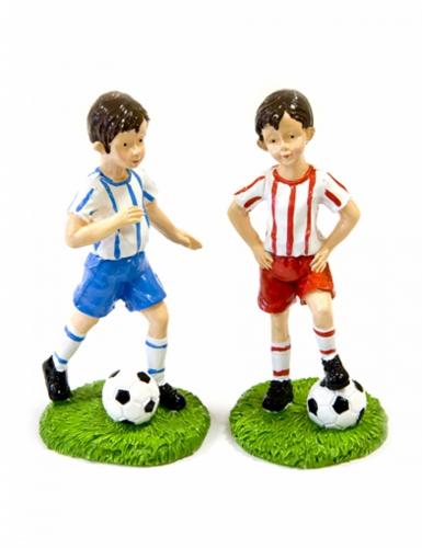 Figurine joueur de foot en résine 6 cm