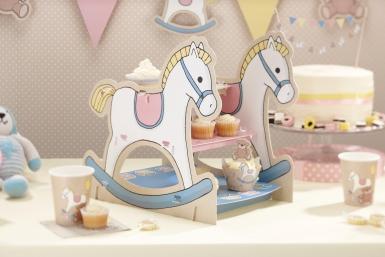 Présentoir à gâteaux Cheval à bascule 9,8 x 13,5 x 14,2 cm-1