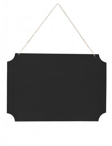 Ardoise à suspendre avec craies 45 x 30 cm