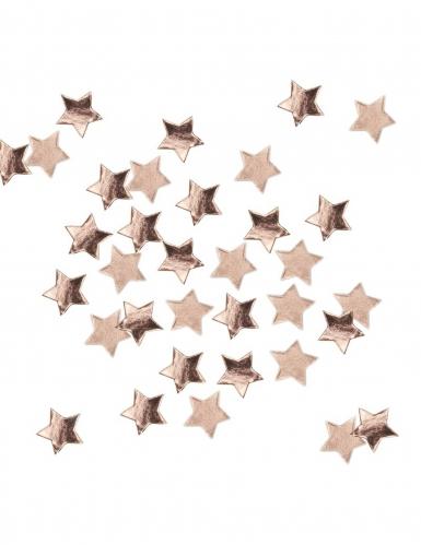 Confettis de table étoiles rose gold 14 g