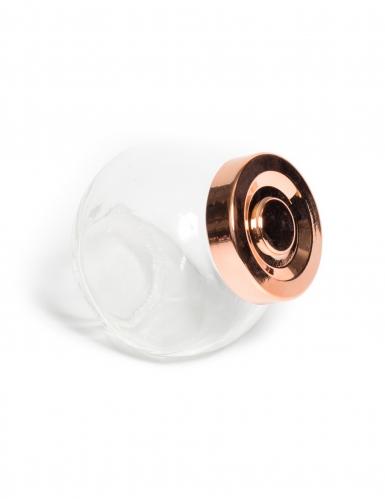 Mini bocal d'épicerie rose gold 180 ml