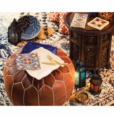 24 Petites serviettes en papier Morocco 25 x 25 cm-1