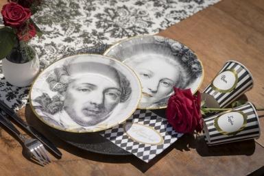 10 Gobelets en carton Versailles 200 ml-1