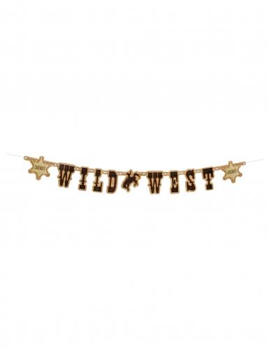 Guirlande en plastique Western Wild West 1,10 m