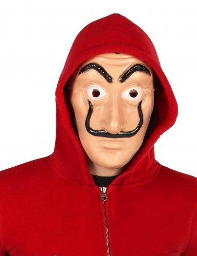 Masque voleur rouge adulte