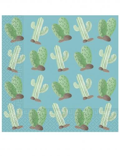 20 Serviettes en papier Lama Party 33 x 33 cm
