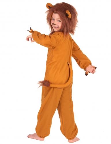 Déguisement lion effet polaire enfant-2