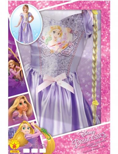 Coffret princesse Raiponce™ avec sequins et tresses fille-1