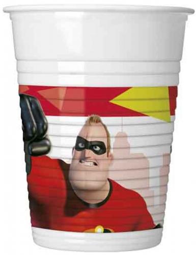 8 Gobelets en plastique  Les Indestructibles 2™ 200 ml