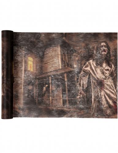 Chemin de table en tissu intissé Zombie 30 cm x 5 m