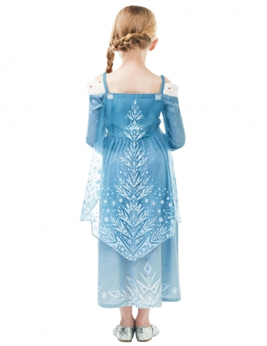 Déguisement Elsa Joyeuses Fêtes avec Olaf™ fille-1