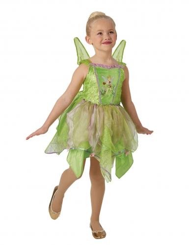 Déguisement deluxe Fée Clochette™ avec ailes lumineuses fille