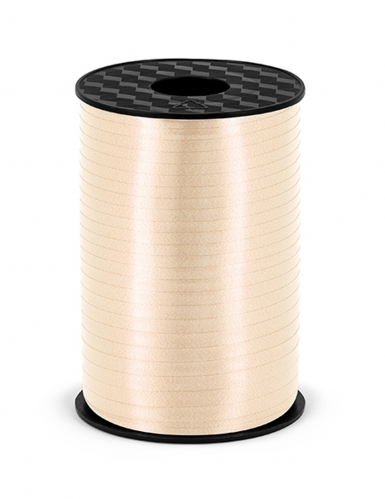 Bobine de ruban en plastique crème 5 mm x 225 m