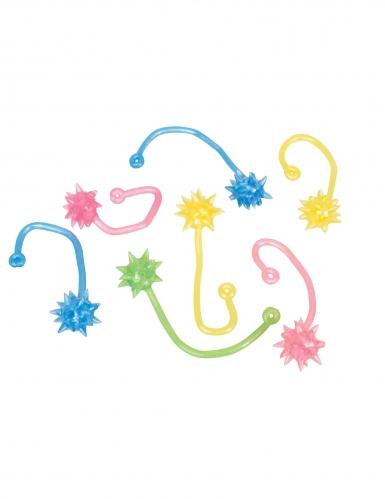 8 Accessoires piñata étoiles filantes gluantes