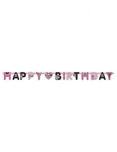 Guirlande Happy Birthday en carton LOL Surprise™ 1,69 m-1