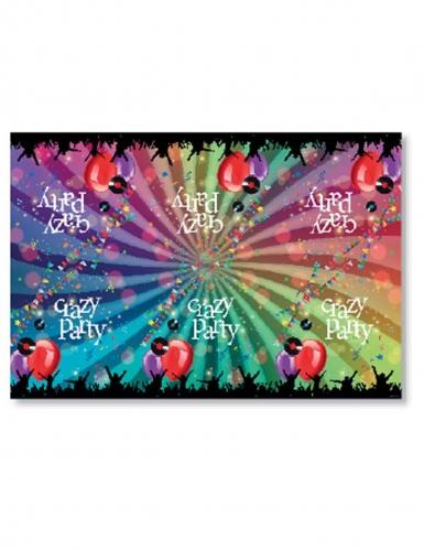 a6863a938b52 Nappe en plastique Crazy Party