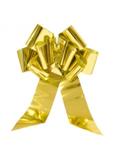 Noeud à tirer géant doré 58 cm
