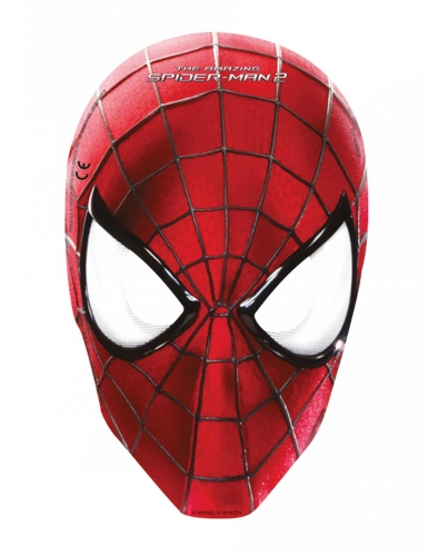 6 masques the amazing spider man d coration anniversaire - Decoration table anniversaire 20 ans ...