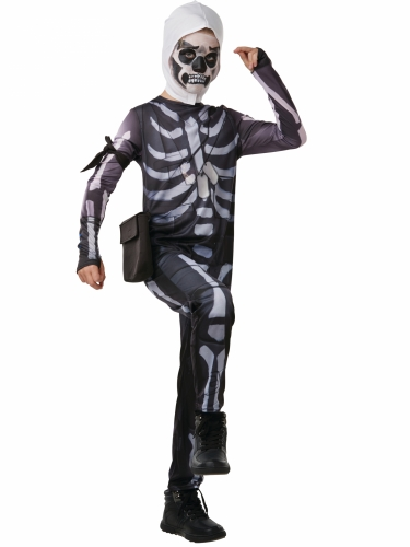 Déguisement Skull Trooper Fortnite™ adolescent-1