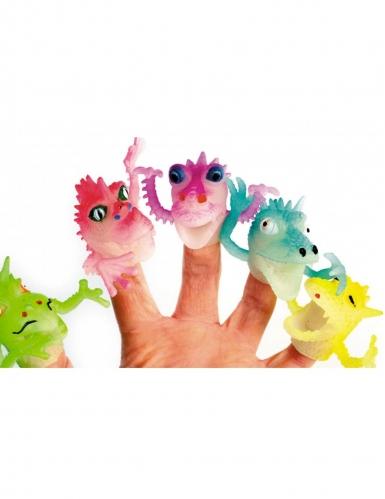 1 Jouet marionnette dragon pour doigt 4 cm
