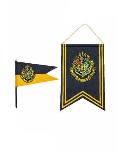 Bannière Et Drapeau Poudlard Harry Potter