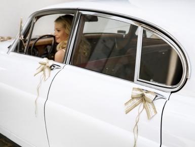 Kit décoration de voiture en jute 9 pièces-2