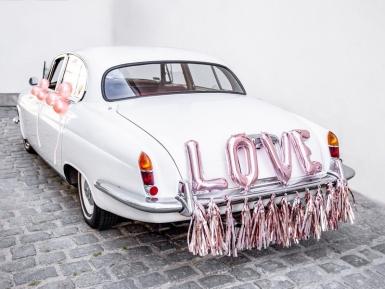 Kit décoration de voiture love rose gold 19 pièces-1