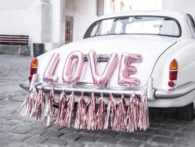 Kit décoration de voiture love rose gold 19 pièces-2