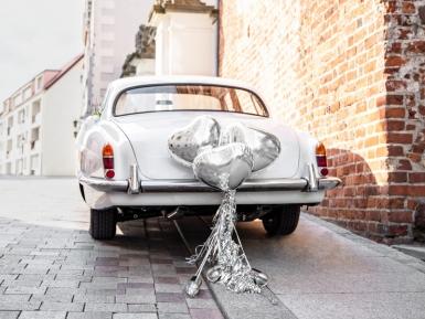 Kit décoration de voiture argenté -1