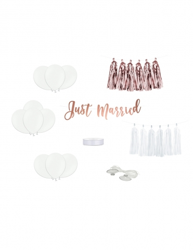 Kit décoration de voiture just married