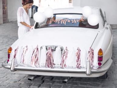 Kit décoration de voiture just married-2