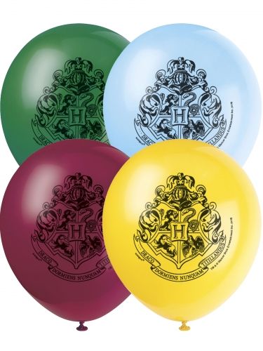 8 Ballons en latex Harry Potter™ 30 cm