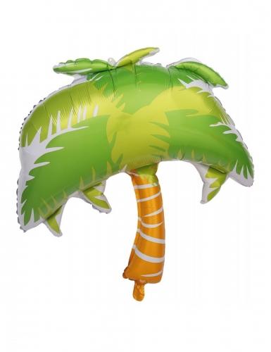 Ballon aluminium palmier 70 cm