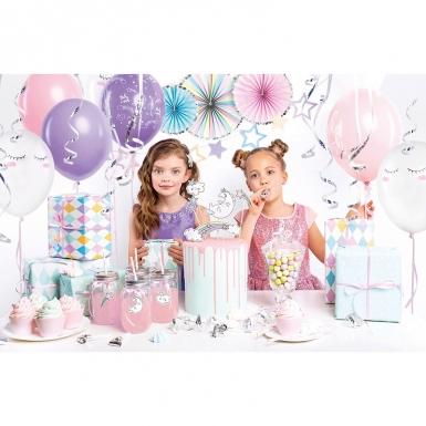 Kit décoration anniversaire licorne 35 pièces-1