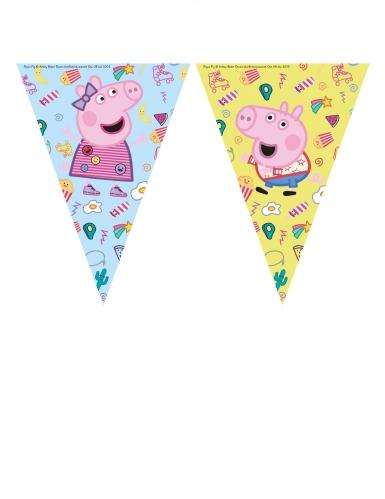 Guirlande 9 fanions Peppa Pig™
