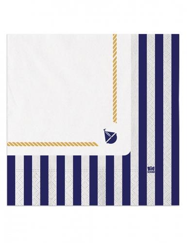 Lot de 20 serviettes en papier /à fromage 33 x 33 cm