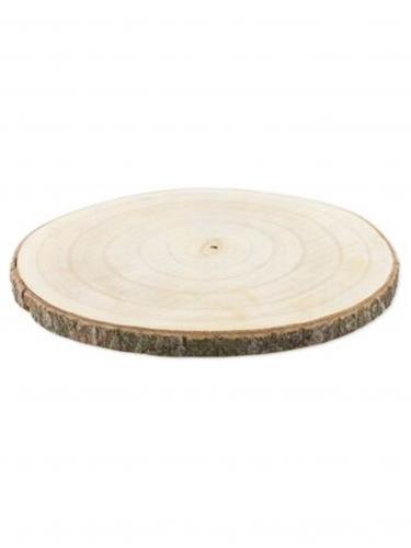 Rondin de bois naturel 28 à 33 cm
