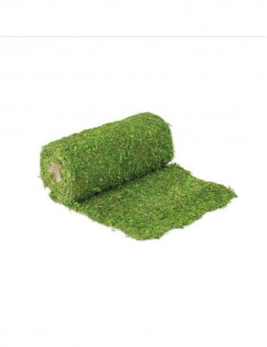 Chemin de table végétal en mousse naturelle 30 cm x 2 m