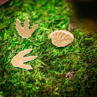 Chemin de table végétal en mousse naturelle 30 cm x 2 m-1