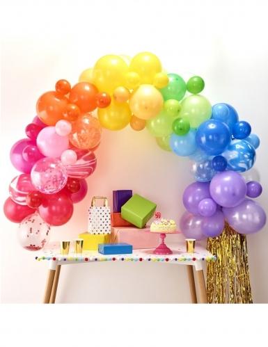 Kit arche de 85 ballons en latex multicolores-1