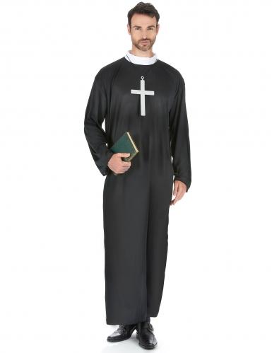 Déguisement prêtre grande taille homme
