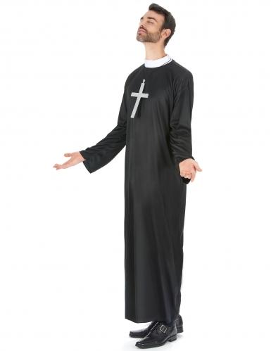 Déguisement prêtre grande taille homme-1