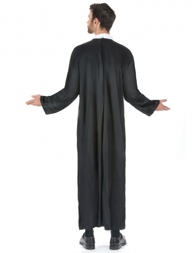 Déguisement prêtre grande taille homme-2
