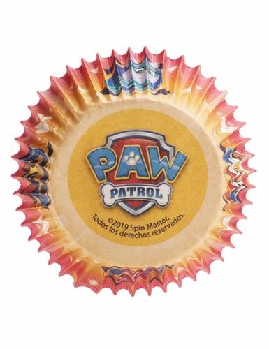 25 Moules à cupcakes en papier Pat Patrouille™ 5 x 3 cm-1