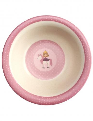 Coffret vaisselle en bambou princesse 5 pièces-2
