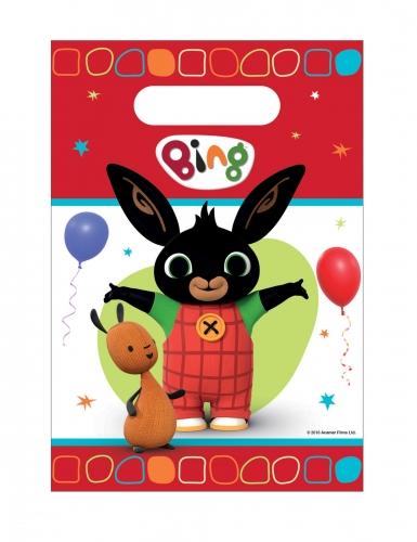 8 Sacs de fête en plastique Bing™